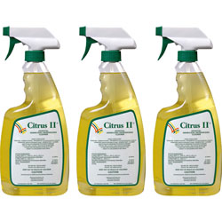Beaumont Citrus II Germicidal Cleaner, Spray Bottle, 22 oz, 3/PK