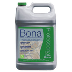 Bona® Stone, Tile & Laminate Floor Cleaner, Fresh Scent, 1 gal Refill Bottle