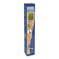 Bona® Hardwood Floor Care Kit, 18 in Head, 72 in Handle, Blue