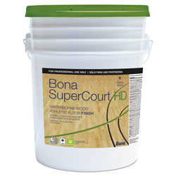 Bona® SuperCourt HD Floor Finish, 5 gal