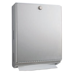 Bobrick ClassicSeries Surface-Mounted Paper Towel Dispenser, 10 13/16 inx3 15/16 inx14 1/16 in