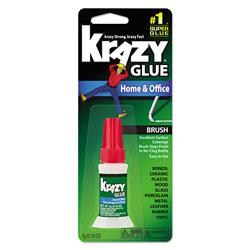 Elmer's All Purpose Brush-On Krazy Glue, 0.18 oz, Dries Clear