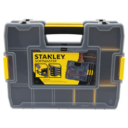 Stanley Bostitch Sortmaster Junior Organizer, Yellow
