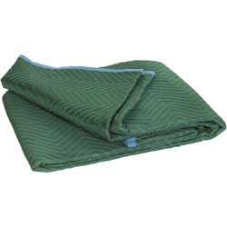Box Partners Moving Blanket, Standard, 72 inWx80 inH, 6/Ct, Green