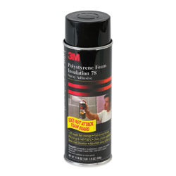 3M 78 Polystyrene Foam Insulation Spray Adhesive