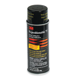 3M 75 Repositionable Adhesive 16 Ounce