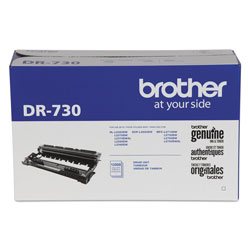 Brother DR730 Drum Unit, 12000 Page-Yield, Black