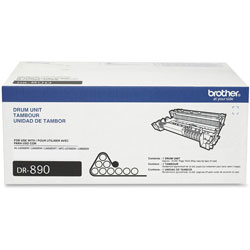 Brother DR890 Imaging Drum - Laser Print Technology - 50000 - 1 Each