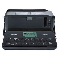 Brother PTD800W Commercial/Lite Industrial Portable Label Maker