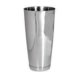 Admiral Craft Bar Shaker, 30 oz, Stainless Steel w/Mirror Finish