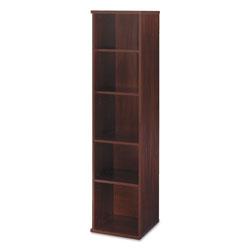 Bush Series C Collection 18W 5 Shelf Bookcase, Hansen Cherry