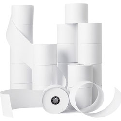 "Business Source Bulk Machine Roll, Single-Ply, 2-1/4"" x 150', White"