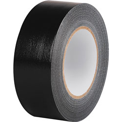 Business Source Duct Tape Roll, 9mil, 2 inx60 yards, Black