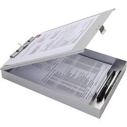 Business Source Clipboard, Storage, 9-1/5 inx1-1/2 inx14 in, Silver