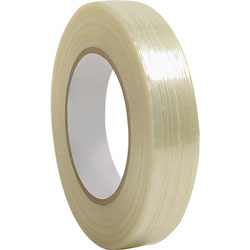Business Source Filament Tape, 180 lb Tensile, 3 in Core, 1 inx60 Yards