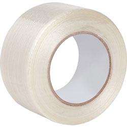 Business Source Filament Tape, 180 lb Tensile, 3 in Core, 2 inx60 Yards
