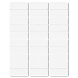 Business Source Premium Mailing Labels, 5-1/2 in x 8-1/2 in, 15000/CT, White