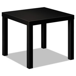 Basyx by Hon Laminate Occasional Table, 24w x 24d x 20h, Black