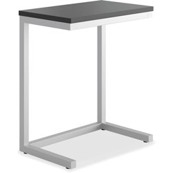 Basyx by Hon Occasional Cantilever Table, 24w x 15d x 20 3/4h, Black/Silver