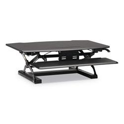 Hon Coordinate Portable Desktop Riser, 35.04w x 31.1d x 16.54h, Black