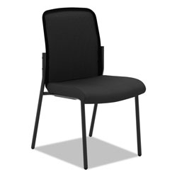 Basyx by Hon VL508 Mesh Back Multi-Purpose Chair, Black Seat/Black Back, Black Base