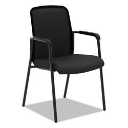 Basyx by Hon VL518 Mesh Back Multi-Purpose Chair with Arms, Black Seat/Black Back, Black Base