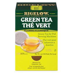Bigelow Tea Company Green Tea Pods, 1.90 oz, 18/Box