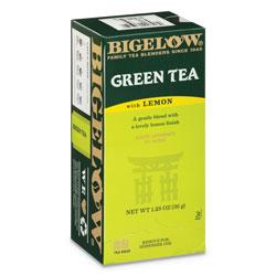 Bigelow Tea Company Green Tea with Lemon, Lemon, 0.34 lbs, 28/Box