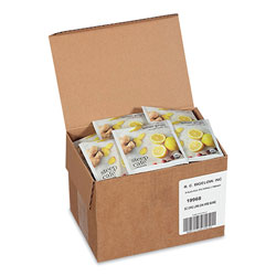Bigelow Tea Company steep Café Organic Herbal Tea, Lemon Ginger, 50 Bags/Carton