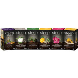 Bigelow Tea Company Organic Tea Assortment, Individually Wrapped, 120/CT, AST