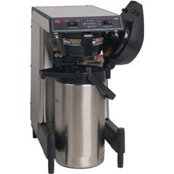 Bulman Products Coffee Brewer, Low-Profile, 9-7/10 inWx17-9/10 inDx17-2/5 inH, Mi