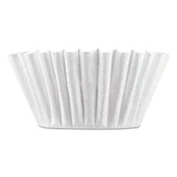 Bunn Coffee Filters, 8/10-Cup Size, 100/Pack, 12 Packs/Carton