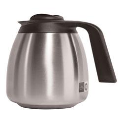 Bunn 1.9 Liter Thermal Carafe, Stainless Steel/Black