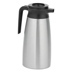 Bunn 1.9 Liter Thermal Pitcher, Stainless Steel/Black
