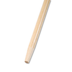 Boardwalk Tapered End Broom Handle, Lacquered Hardwood, 1 1/8 Dia. x 60 Long