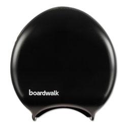 Boardwalk Single Jumbo Toilet Tissue Dispenser, 11 x 12 1/4, Black