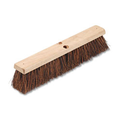 Boardwalk Floor Brush Head, 3 1/4 in Natural Palmyra Fiber, 18 in
