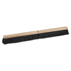 Boardwalk Floor Brush Head, 36 in Wide, Polypropylene Bristles