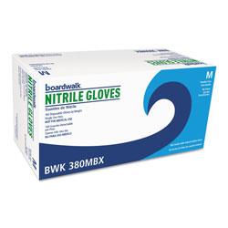 Boardwalk Disposable General-Purpose Nitrile Gloves, Medium, Blue, 4 mil, 1000/Carton