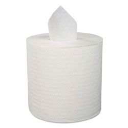 Boardwalk Center-Pull Roll Towels, 2-Ply, 10 inW, 600/Roll, 6/Carton