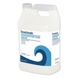 Boardwalk Stain Resistant Floor Sealer, 1 gal Bottle, 4/Carton