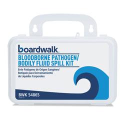 Boardwalk Bloodborne Pathogen Kit, 30 Pieces, 3 in x 8 in x 5 in, White