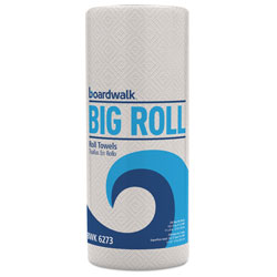 Boardwalk Household Perforated Paper Towel Rolls, 2-Ply, 11 x 8.5, White, 250/Roll, 12 Rolls/Carton