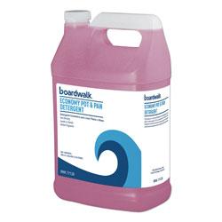 Boardwalk Industrial Strength Pot and Pan Detergent, 1 Gal Bottle, 4/Carton