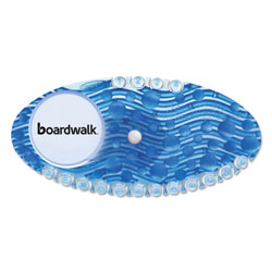 Boardwalk Curve Air Freshener, Cotton Blossom, Blue, 10/Box, 6 Boxes/Carton