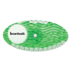 Boardwalk Curve Air Freshener, Cucumber Melon, Green, 10/Box, 6 Boxes/Carton