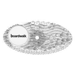 Boardwalk Curve Air Freshener, Mango, Solid, Clear, 10/Box