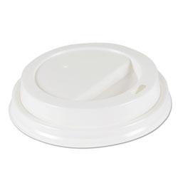 Boardwalk Deerfield Hot Cup Lids for 10oz - 20oz Cups, White, Plastic, 50/PK, 20 PK/Carton
