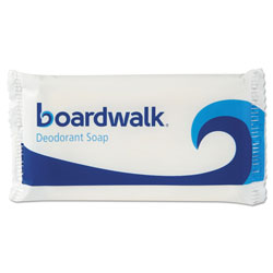 Boardwalk Face and Body Soap, Flow Wrapped, Floral Fragrance, # 1 1/2 Bar, 500/Carton