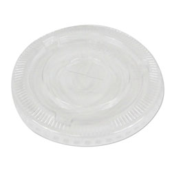 Boardwalk PET Cold Cup Lids, Fits 16-24 oz Plastic Cups, Clear, 1000/Carton